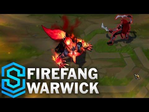 Warwick Nanh Lửa - Firefang Warwick