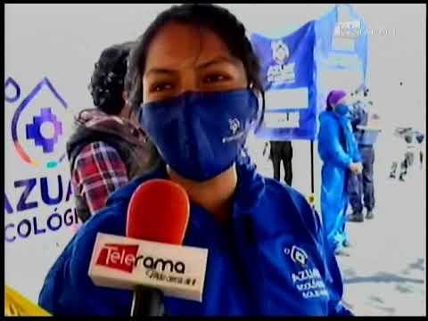 Colecta solidaria organizada por la prefectura del Azuay