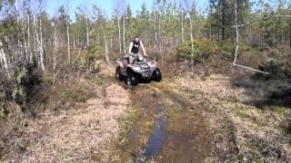7. Suzuki King Quad 700 swamp thing
