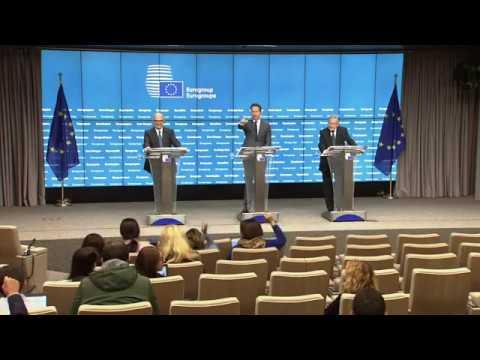 Η συνέντευξη Τύπου μετά την ολοκλήρωση του Eurogroup