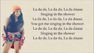 Becky G-Shower (Lyrics)