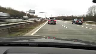 Audi S4 AVANT B8 5 @AUTOBAHN RACE VS BMW 535D F10 VS AUDI A4 B9 3 0 TDI