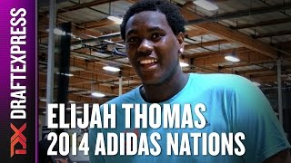 2014 Elijah Thomas Interview - DraftExpress - Adidas Nations