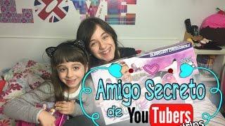 Vem conhecer e acompanhar os canais dos Youtubers Mirins que participaram do amigo secreto comigo: - Cozinhando com...