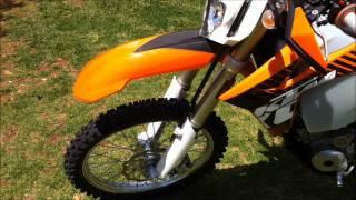 4. 2012 KTM 250 EXC-F