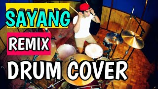 Video Via vallen - Sayang - remix version (Drum cover) MP3, 3GP, MP4, WEBM, AVI, FLV Maret 2018