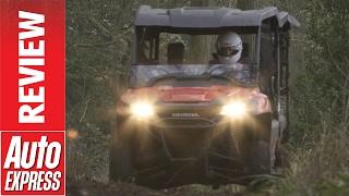 7. Honda Pioneer ATV review: mud and drifting in Honda's ultimate utility vehicle