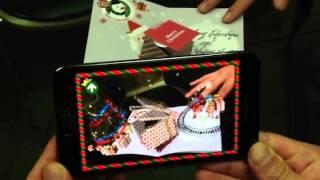 X-MAS 3D CAROL TREE CARD YouTube video