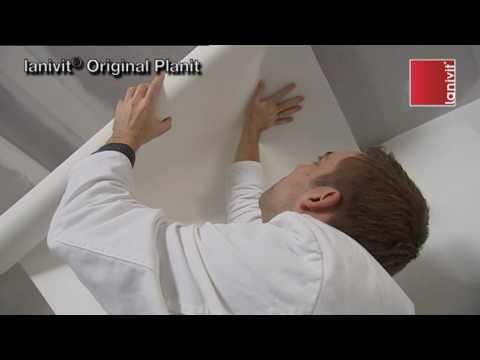 comment poser toile de verre lisse