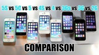 Inter Generational iPhone Speed Test
