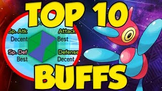 TOP 10 BIGGEST BUFFS IN POKEMON SUN AND MOON! by Verlisify