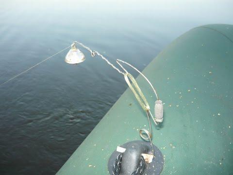 ловля леща бортовыми удочками с лодки летом