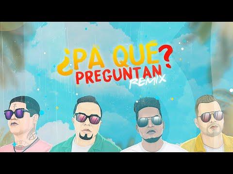 Alex Zurdo & Funky - ¿Pa' Qué Preguntan? (Remix) (Video Lyric) Feat Redimi2 + Alejandro (Almighty)