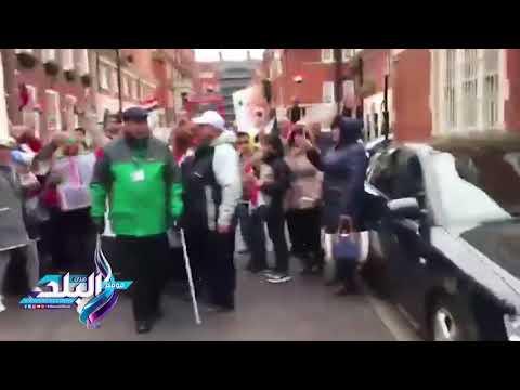 صدى البلد | مشاركة فاعلة واحتفالية للمصريين ببريطانيا خلال اليوم الثاني للتصويت