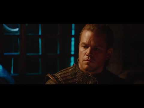 The Great Wall (Clip 'Tovar Confronts William')