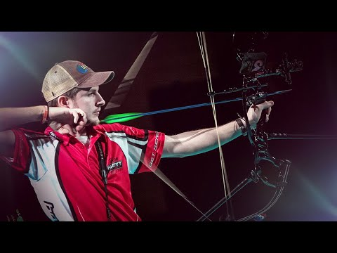 compound - Uncut match from the 2013 Indoor Archery World Cup in Nîmes (FRA). Compound Men Bronze Medal Match - BROADWATER J. (USA) vs AAMAAS N (NOR) All Results : http...