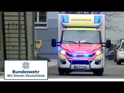 Bundeswehr-Rettungswagen: Unterwegs im Realeinsatz