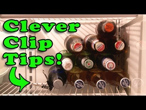 Tips - Here are 12 innovative uses for the simple binder clip! Save time, money and have fun too! Have an idea? Post it in the comments! More videos at http://www.k...