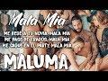 Mala Mía (Letra/Lyrics)