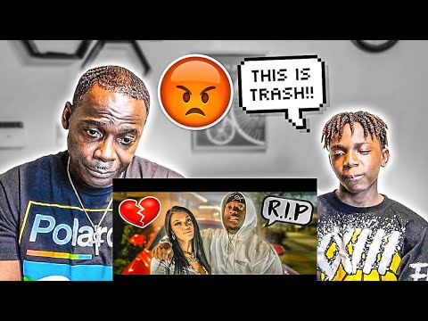 Darion  & Dad  Reacts To The  Prince Family -12 Year Old Brother Diss Track (Official Music Video)