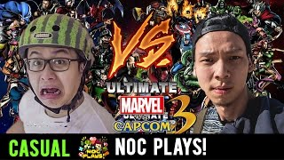 Video NOC Plays Marvel vs Capcom! (Nerf Guns Punishment) MP3, 3GP, MP4, WEBM, AVI, FLV Maret 2019