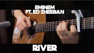 Eminem - River ft. Ed Sheeran - Fingerstyle Guitar