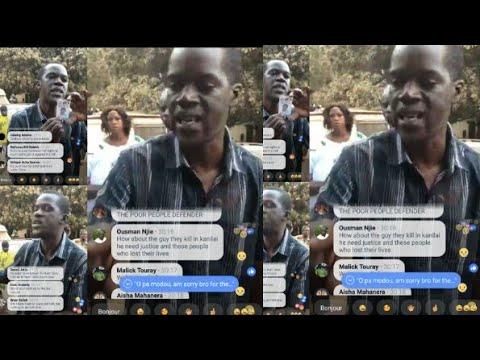 Fatou network  Interview with Pa Modou Bojang 😡😡 it's so sad