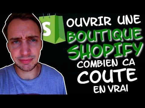 Ouvrir une boutique Shopify : Combien ça coûte en vrai ?