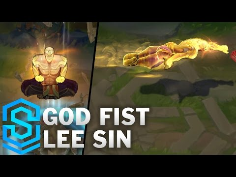 Leesin tối thượng ( God Fist Lee Sin Skin Spotlight )