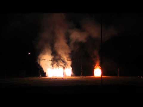 Feuerwerk Pyro-Team Berlin - Feuerwerk zum 10 jährigen Firmenjubiläum in Wolfsburg vom 07.05.2017