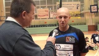 Wywiady po meczu Cuprum Polkowice - Nbit Gliwice