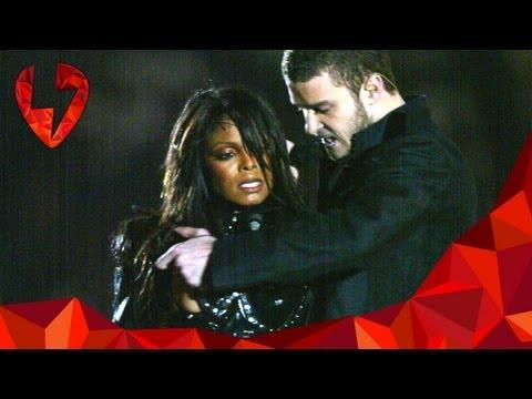 Janet Jackson Has A Wardrobe Malfunction - Feb 01 - Today In Music