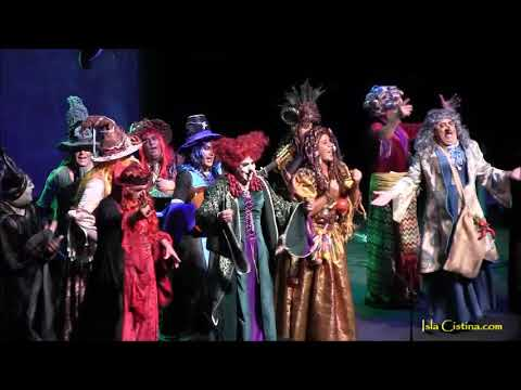 Murga «Las Brujas». Carnaval de Isla Cristina 2018