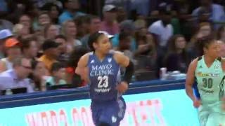 Maya Moore Scores A Game High 25 Points To Lead the Minnesota Lynx to victory over the NY Liberty by WNBA