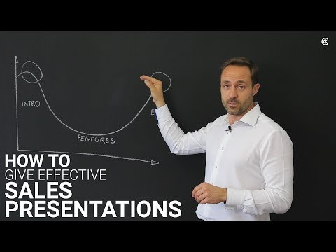 How to give effective sales presentations