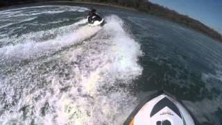 7. Jet ski sploooosh