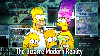 Video The Bizarre Modern Reality of The Simpsons MP3, 3GP, MP4, WEBM, AVI, FLV Agustus 2019
