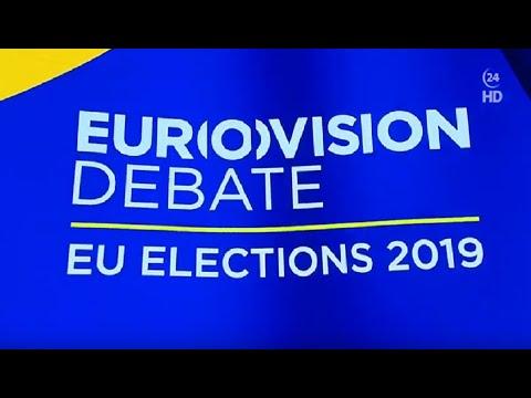 LIVE: Debatte der Spitzenkandidaten zur Europawahl 2019