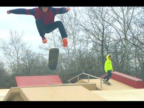 Nick Stone Shreds Ephrata Skatepark