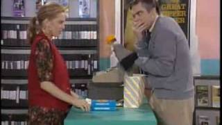 Jim Carrey - Mr Rogers in a Video Store