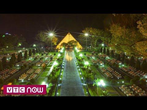 Nghĩa trang A1 ngập tràn ánh nến tri ân | VTC1 - Thời lượng: 63 giây.
