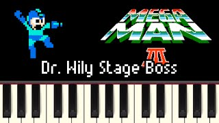 Download Lagu Dr. Wily Stage Boss - Mega Man 3 [Synthesia] Mp3