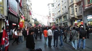 Moda Turkey  city photo : Turkey Republic Day - Istanbul - Moda/Istiklal Cad.