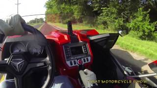 2. 2015 Polaris Slingshot ride and review