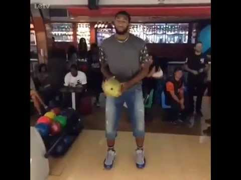 六秒告訴你為什麼NBA球員不能打保齡球....
