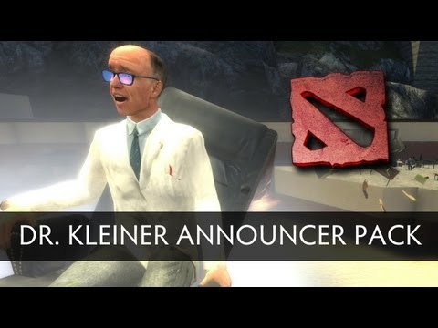 Dr. Kleiner Announcer Pack Preview