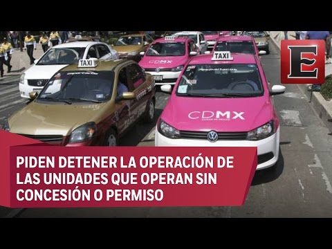 Taxistas mexicanos sobre Uber: Su servicio es ilegal