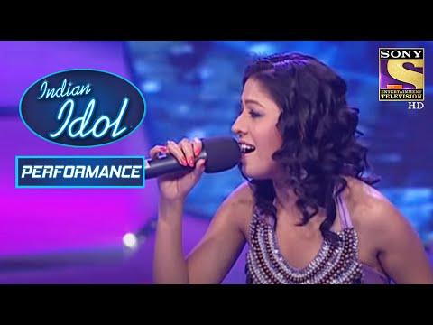 Sunidhi ने किया 'Tere Naina' Performance में Shivam को Join   Indian Idol Season 5
