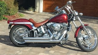 4. 2004 Harley Davidson FXSTI Softail Standard FOR SALE