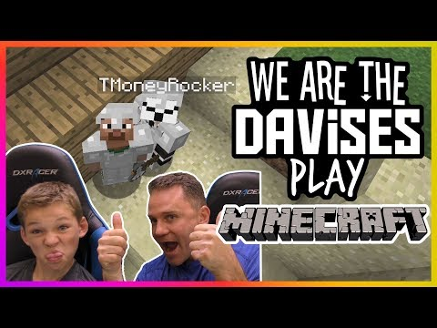 The Iron Twins | Minecraft Ep-7 | We Are The Davises Gaming